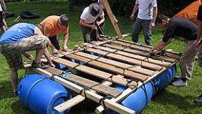 Floßbau-Workshop Allgäu