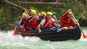 Teamkanutour Donau