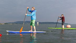 Stand Up Paddling Schwarzwald