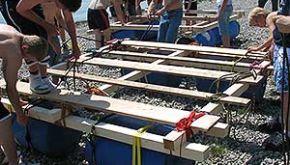 Floßbau-Workshop Bodensee