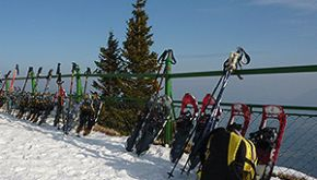 Schneeschuhtour Bodensee